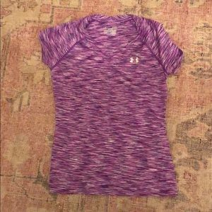 Under Armour Purple Shirt
